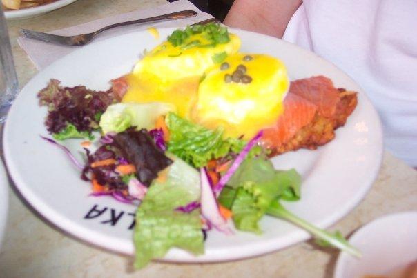 Photo of Salmon Latke Eggs Benedict