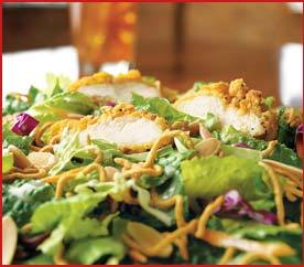 Oriental Chicken Salad at Applebee's