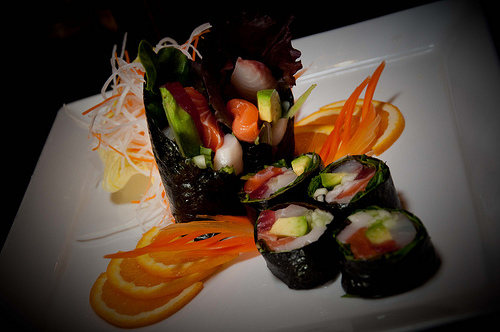 LOW CARB ROLL at Arisu Japanese Cuisine