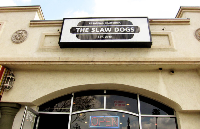 Exterior at The Slaw Dogs