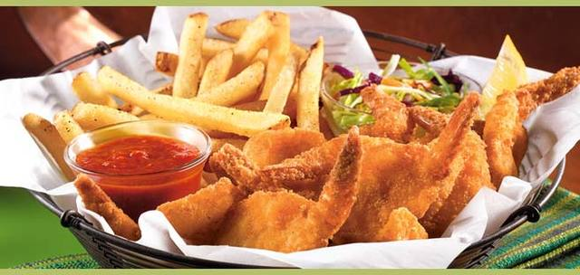 Double Crunch Shrimp at Applebee's
