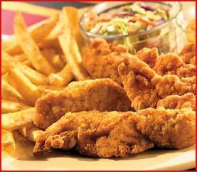 Chicken Fingers Platter at Applebee's