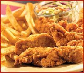 Chicken Fingers Platter at Applebee's