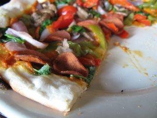 Vegan Pizza at Busboys & Poets