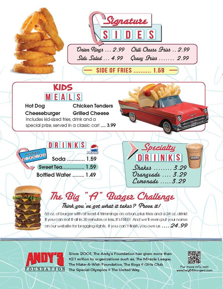 Hwy 55 Near Me >> Hwy 55 Burgers Shakes Fries Locations Near Me Reviews Menu