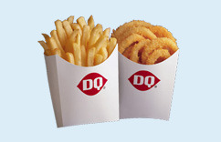 Fries & Onion Rings at Dairy Queen
