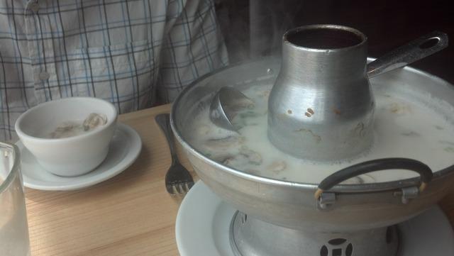 Tom Kha Gai (Coconut Chicken) at Basil Thai Cuisine
