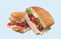 Iron Grilled Sandwiches at Dairy Queen
