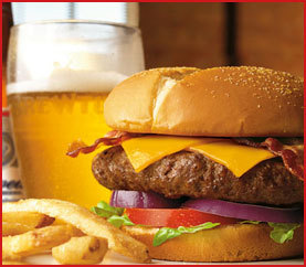 Brewtus Steak Burger at Applebee's