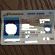 ID as it was returned after being damaged by restaurant owner. - Interior at Heroes Restuarant and Brewery