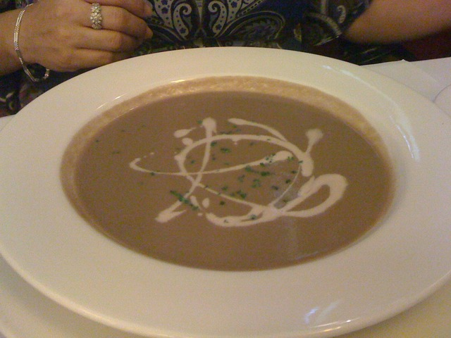 Soup at Can Can Brasserie