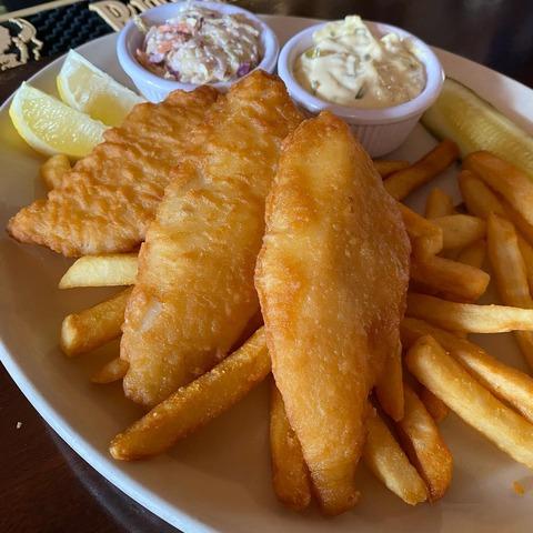 Stockholm's  Fish & Chips - Fish & Chips at Stockholm's