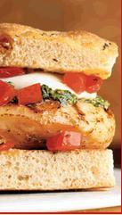 Bruschetta Chicken Sandwich at Applebee's