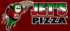 Logo at Jet's Pizza
