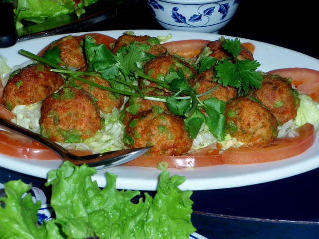 Quail Eggs Wrapped in Shrimp Paste at Phong Dinh Restaurant