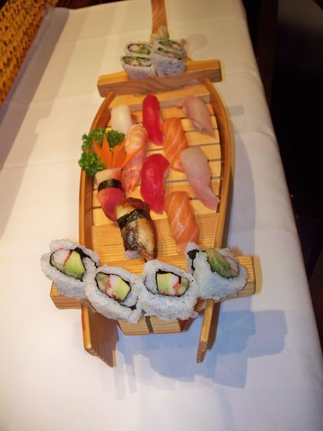 SUSHI DELUXE BOAT at Arisu Japanese Cuisine