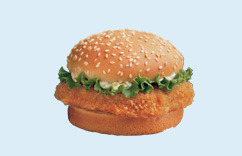 Fish Fillet Sandwich at Dairy Queen