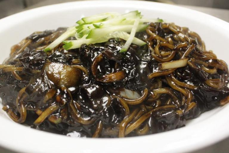 Black Bean Noodles - Restaurant Menu at Korea Garden Restaurant