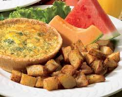 Cafe Breakfast Quiche at Mimi's Cafe