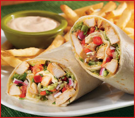 CHICKEN FAJITA ROLLUP at Applebee's