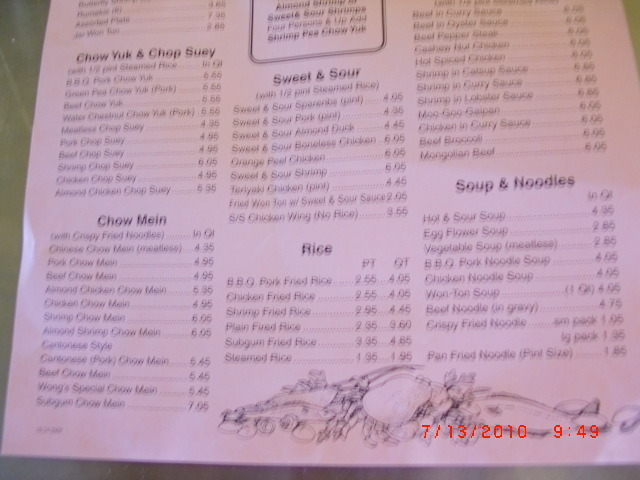 Wong\'s Kitchen Locations Near Me + Reviews & Menu
