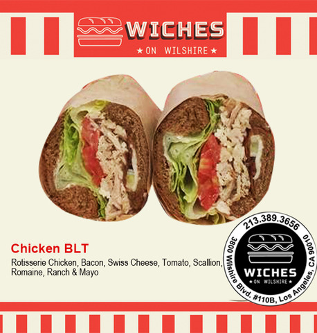 Ck Blt Sandwich at Wiches on Wilshire