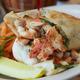 Monterey Ranch Chicken Wrap at Peach's Restaurant