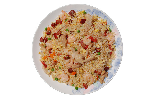 House Special Fried Rice at Shanghai Restaurant