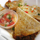 Kimchi Quesadilla at Red Hot Kitchen