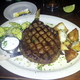 Ribeye steak at Huisache Grill and Wine Bar