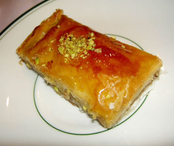 Baklava at Raffi's Place Restaurant