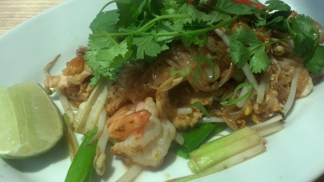 Pad Thai at Basil Thai Cuisine