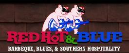 Logo at Red Hot & Blue