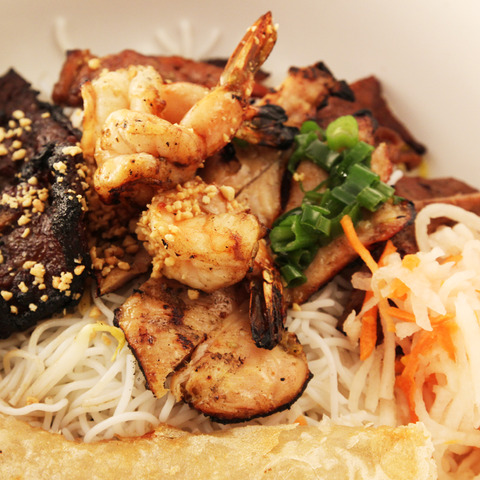 Specialty Noodle Bowl at T-Wa Inn