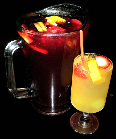 Sangria at Ole Tapas Bar