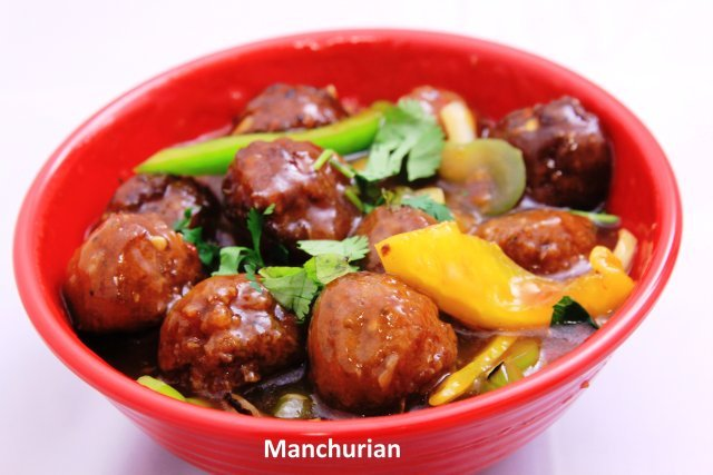 Manchurian and Naan at Standard Sweets and Snacks