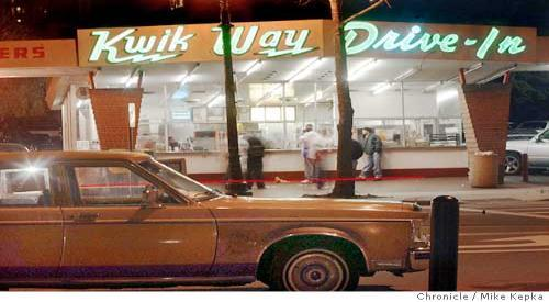 The way it used to be - Lake Park location circa 1965 - Photo at Kwikway Chicken