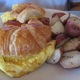 Breakfast Croissant Sandwich at Champagne French Bakery Cafe
