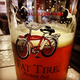 Pint of Fat Tire at Gianni's Pizza