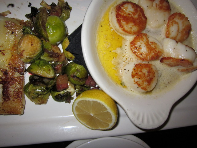 Photo of Seared Georges Bank Scallops