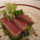Saffron Bistro - Tuna Appetizer - Sesame Crusted Yellowfin Tuna at Saffron Bistro