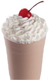 Chocolate Ice Cream Shake at Jack in the Box