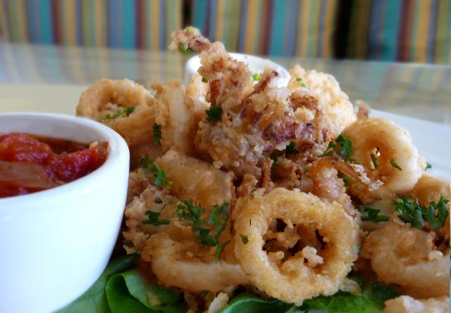 Calamari Appetizer at Kafe Neo