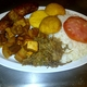 A combination of some of our delicious Colombian treats  - BANDEJA MANDYS at Mandy's Juices