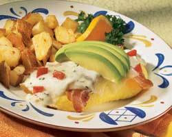 Crab & Avocado Omelete at Mimi's Cafe