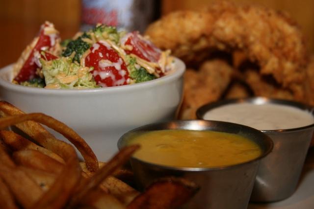 Hand Breaded, Juicy and Crunchy - Chicken Tenders at Fender's Roadhouse of Joplin