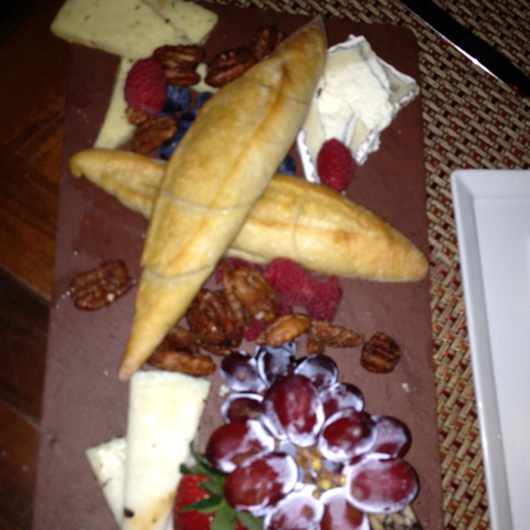 Cheese plate at The Ritz-Carlton, New Orleans