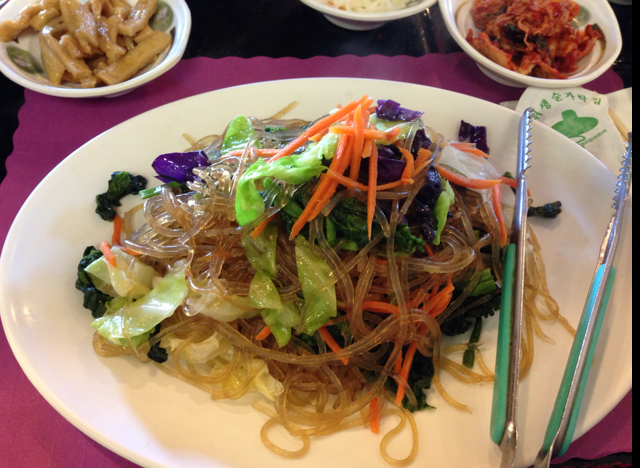 Jap Chae at Mom's Tofu House