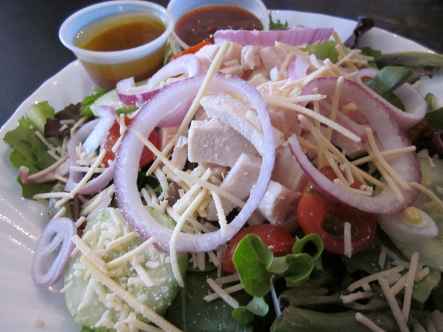 Herb Garden Salad with Chicken at Jack's Cafe
