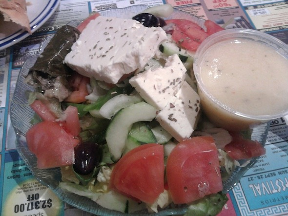 Gyro Deluxe at Silver Moon Diner